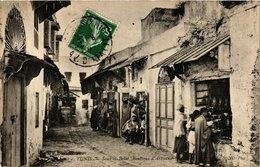 CPA TUNISIE TUNIS - Souk El Belat-Boutique D'Artisans (239466) - Tunisia