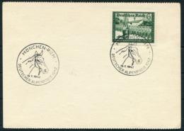 1942 Germany Munchen Riem Deutscher Alpenpreis Postcard. Horse - Germany
