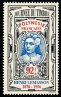 POLYNESIE 1996 - Yv. 518 ** SUP  Faciale= 0,77 EUR - Journée Du Timbre: Vahiné, Par H.Lemasson  ..Réf.POL24690 - Polynésie Française