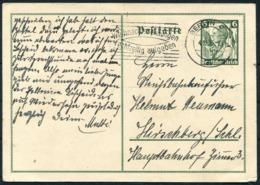 1935 Germany Stationery Postcard Berlin Christmas Slogan - Germany