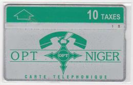 NIGER Ref MV Cards : NGR-09a 10T Téléphone Sur LOGO OPT CN : 612L  4 500 Ex. Année 1996 - Niger