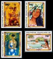 POLYNESIE 1996 - Yv. 520 521 522 Et 523 ** SUP  Faciale= 2,88 EUR - Artistes Peintres (4 Val.)  ..Réf.POL24692 - Polinesia Francese