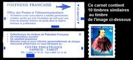 "POLYNESIE 1996 - Yv. Carnet C507 (I) **   Faciale= 8,40 EUR - 10 Tp Adhésifs ""Reine Pomaré""   ..Réf.POL24683 - Polynésie Française"