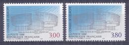 Francia 1996. YT = Ser 116-17 - Nuevos Sin Fijasellos (**). Consejo De Europa - Servicio
