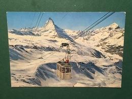 Cartolina Zermatt - Luftseilbahn - Stockhorn - 1962 - Non Classificati