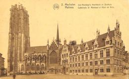 CPA - Belgique - Mechelen - Malines - Cathédrale St Rombaut - Malines