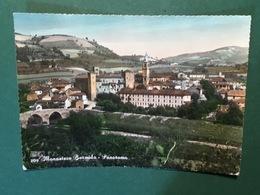 Cartolina Monastero Bormida - Panorama - 1958 - Asti