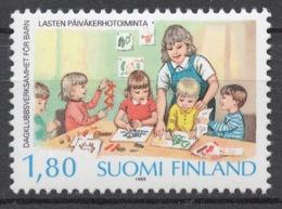 Finland 1988 Mi# 1065** CHILDREN'S PLAYGROUPS - Nuovi
