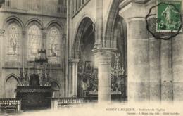 CPA BOISSY-L'AILLERIE - Interieur De L'Église (107674) - Boissy-l'Aillerie
