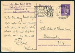 1941 Germany Stationery Postcard. Berlin Munchen Rundfunk Slogan - Germany