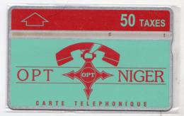NIGER Ref MV Cards : NGR-11 50T Téléphone Sur LOGO OPT CN : 511L  3 500 Ex. Année 1995 - Niger