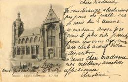 CPA - Belgique - Mechelen - Malines - Eglise Notre-Dame - Malines