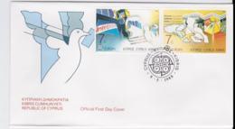 Cyprus 1988  FDC Europa CEPT (G104-36) - 1988