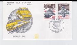 Monaco 1988  FDC Europa CEPT (G104-36) - 1988