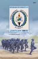 Djibouti 2018, Djibouti Gendarmeria Nationale, BF - Police - Gendarmerie