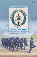 Djibouti 2018, Djibouti Gendarmeria Nationale, BF - Polizei - Gendarmerie