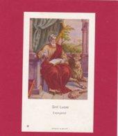 Devotieprent Sint Lucas - Religion & Esotericism