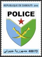 Djibouti 2018, Djibouti Police, 1val - Police - Gendarmerie