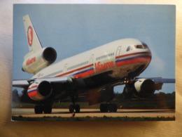 MINERVE  DC 10 -30  AIRLINE ISSUE / CARTE COMPAGNIE - 1946-....: Modern Era
