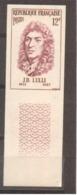 Série Personnages Célèbres étrangers Lulli De 1956 YT 1083 Sans Trace De Charnière - France