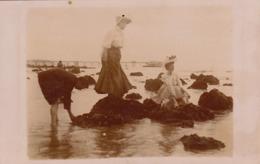 1907 Photo Trouville Calvados Roches Noires - Places