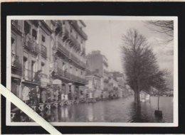 Nantes / Sous L'eau En 1936 / Quai Des Tanneurs, Garage, Auto-école Billy (rare)  Dim 9 X 14 Cm - Nantes