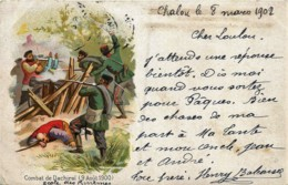 Chine - Combat De Dachiraï  - Rebellion Des Boxers - 9 Août 1900 - Chine