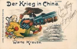 Chine - Der Krieg In China - Warte Krause N° 6309 - Chine