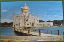 BRUNEI FAMOUS OMAR ALI SAIFUDDIEN MOSQUE FIRST BUILT IN 1958 - Brunei