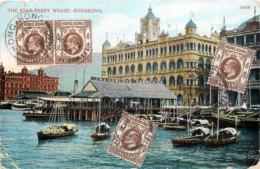 Chine - Hong-Kong - The Star Ferry Wharf - Cina (Hong Kong)