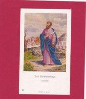 Devotieprent Sint Bartholomeus - Religion &  Esoterik