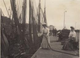 1907 Photo Port De Honfleur Calvados - Orte