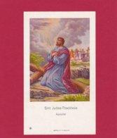 Devotieprent Sint Judas Thaddeus - Religion & Esotericism