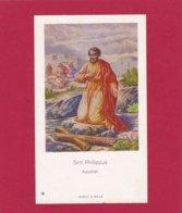 Devotieprent Sint Philippus - Religion &  Esoterik