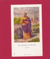 Devotieprent Sint Jacobus De Mindere - Religion & Esotericism