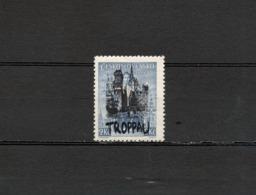 1938 Sudetenland Deutsches Reich Troppau Postfrisch - Sudetenland
