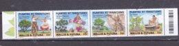WALLIS ET FUTUNA 2019 PLANTES ET TRADITIONS  MNH ** - Unused Stamps