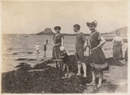 10 Photos Originales Saint Malo Bretagne En 1910 - Lugares