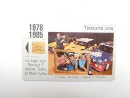 Télécarte Privée , 5U , Gn121 , Auto Renault 1978 - 1985 - Telefoonkaarten Voor Particulieren
