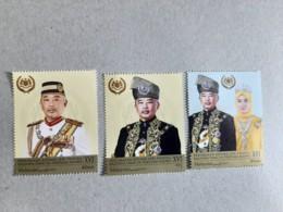 2019 Malaysia Coronation Sultan King Pahang As Agong Royal Muslim Set Stamp MNH - Malaysia (1964-...)