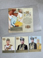 2019 Malaysia Coronation Sultan King Pahang As Agong Royal Muslim Combo Set Stamp & MS Miniture MNH - Malaysia (1964-...)