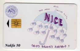 ERYTHREE Ref MV Cards : ERI-5 NICE Année 2000 - Eritrea
