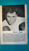 Doc De 1960/61,boxe Malcel Pigou - Kleding, Souvenirs & Andere
