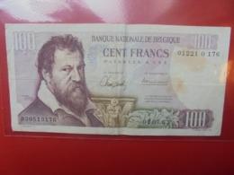 BELGIQUE 100 FRANCS 1963 CIRCULER - [ 2] 1831-... : Reino De Bélgica
