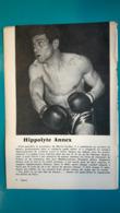 Doc De 1960/61,boxe Hippolyte Annex - Kleding, Souvenirs & Andere
