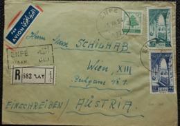 Libanon 1954, Reco-Brief MiF Nach WIEN - Liban