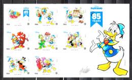 Italia  -  2019. 85^ Anniv. Di Paperino ( Donald Duck ). Complete Series In MNH Block - Disney