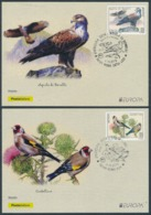"ITALY/Italien/Italia  EUROPA 2019 ""National Birds"" Set Of 2 POSTAL CARDS FDC** - 2019"