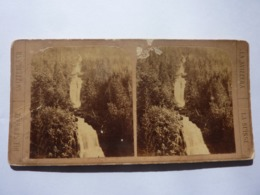 "Fotografia Stereoscopica ""Fotografia Stereoscopica ""SVIZZERA N.° 52 Chute Superieure Du Giessbach"" Inizi '900 - Stereoscopio"