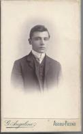 Foto Di Uomo - Studio Fotografico G. Angelini - Ascoli Piceno - Ancianas (antes De 1900)